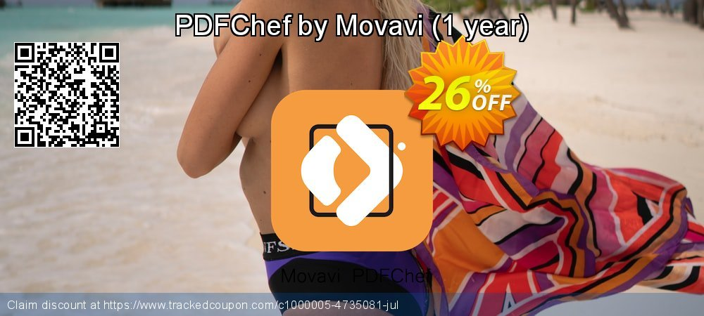 PDFChef by Movavi - 1 year  coupon on New Year's Day super sale