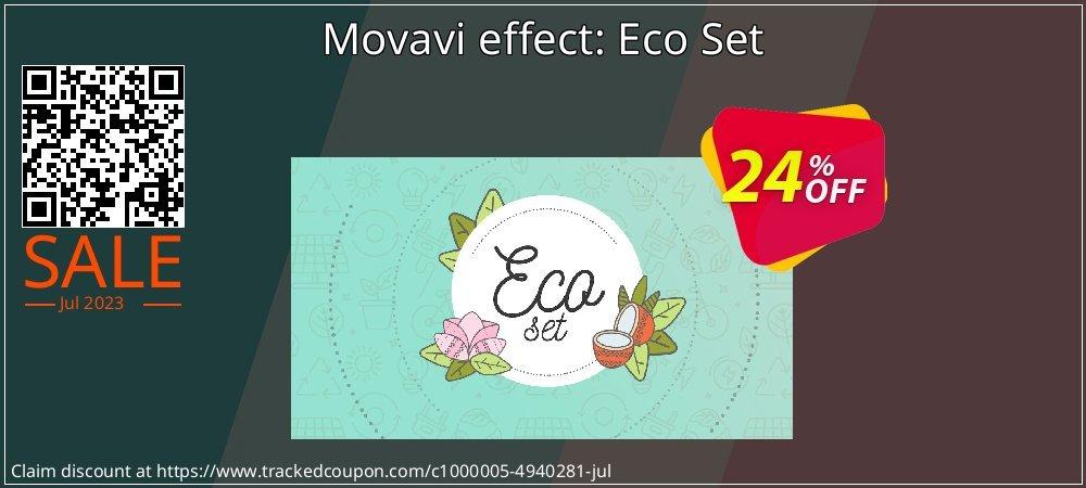 Movavi effect: Eco Set coupon on Black Friday discounts