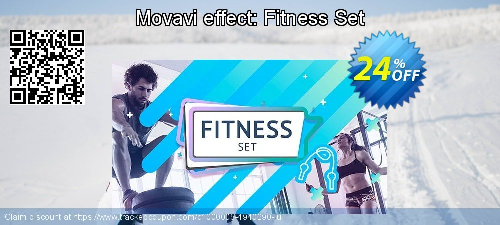 Movavi effect: Movavi Fitness Set coupon on Happy New Year super sale