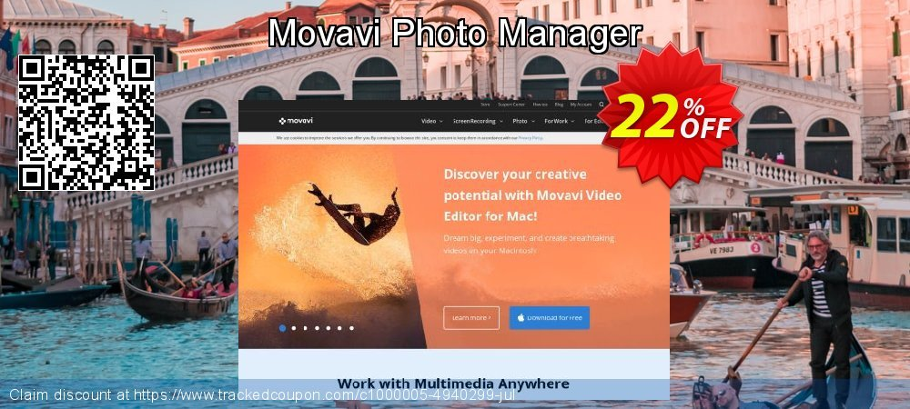 Movavi Photo Manager coupon on Halloween super sale