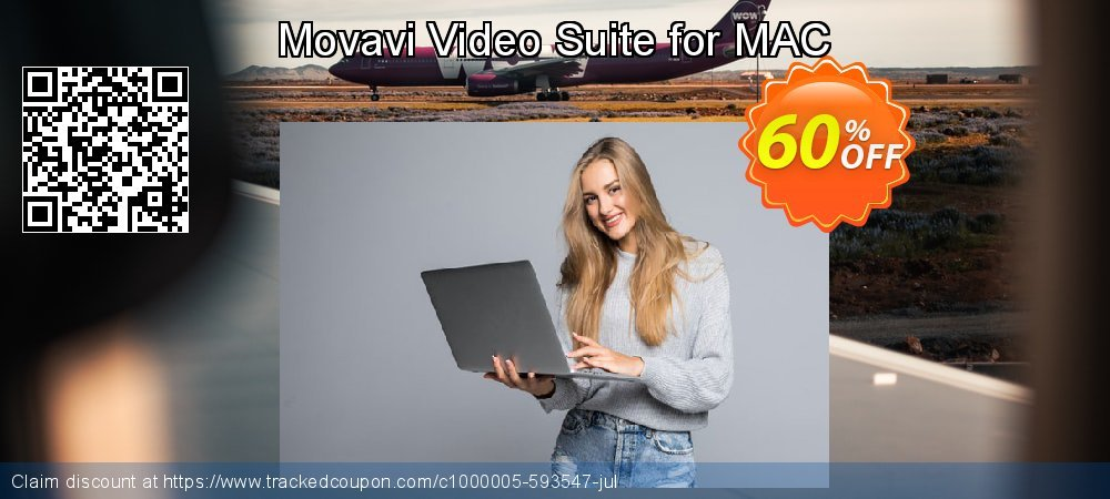Movavi Video Suite for MAC coupon on Black Friday discount