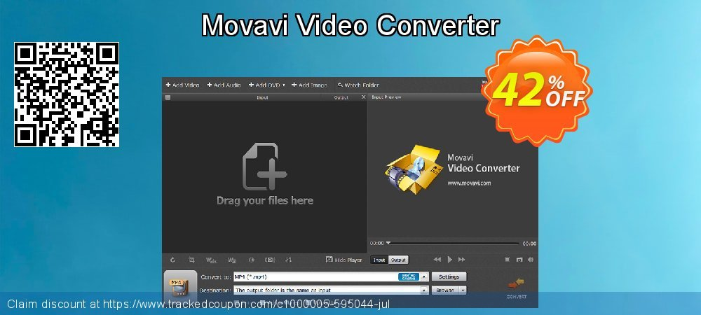 Movavi Video Converter coupon on Xmas Day discounts