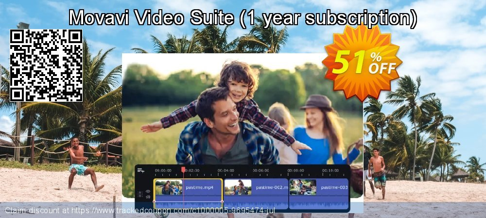 Movavi Video Suite - 1 year subscription  coupon on Halloween offering discount