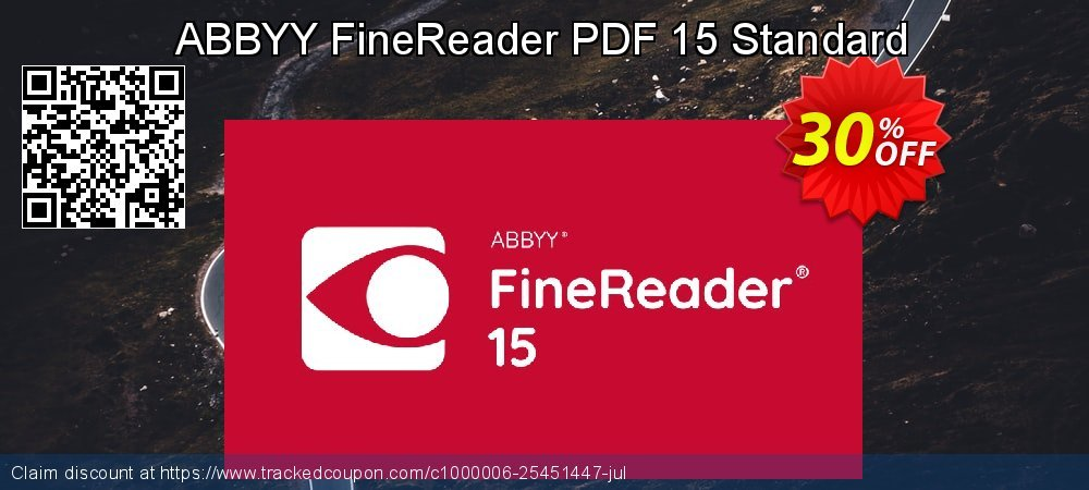 ABBYY FineReader PDF 15 Standard coupon on Student deals deals