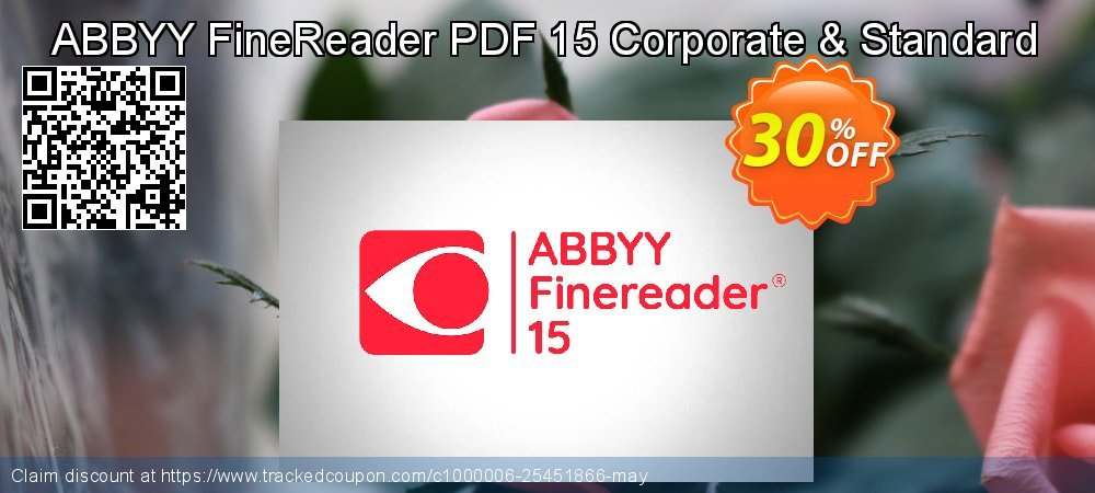 ABBYY FineReader PDF 15 Corporate coupon on Back to School deals super sale