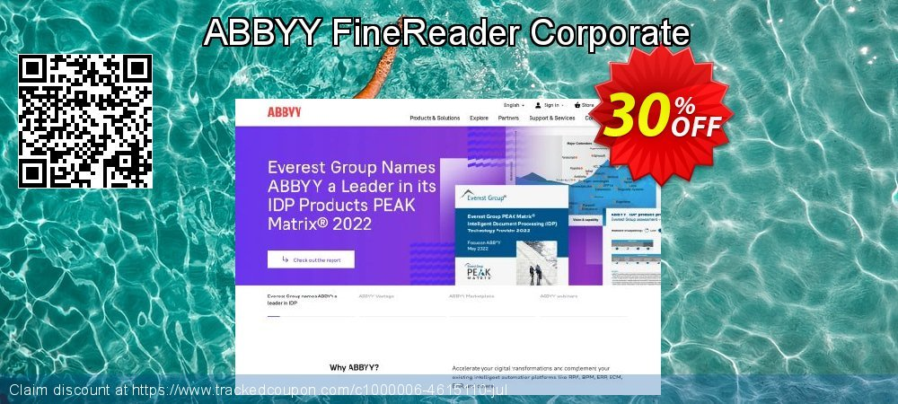 ABBYY FineReader Corporate coupon on Halloween super sale