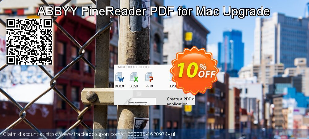 ABBYY FineReader PDF for Mac Upgrade coupon on Navy Day offer