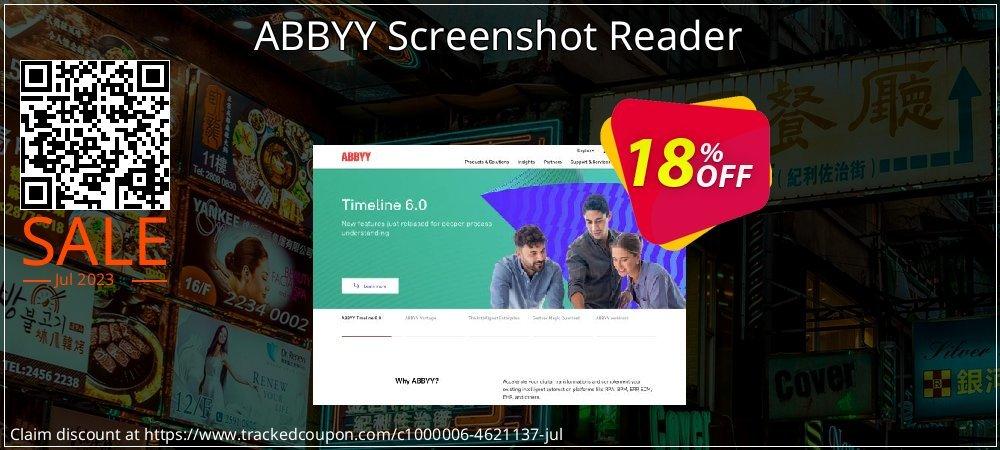 ABBYY Screenshot Reader coupon on Hug Holiday promotions