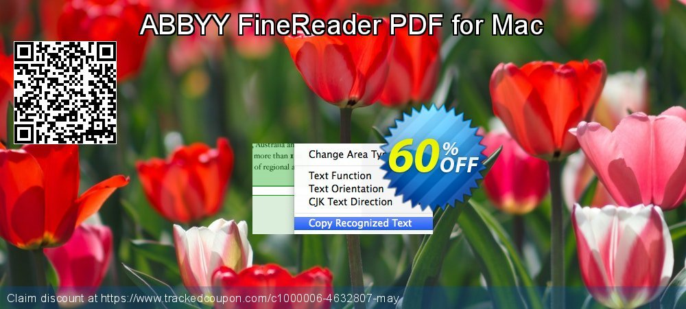 ABBYY FineReader PDF for Mac coupon on Back to School promotion promotions