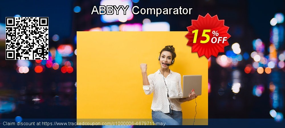 ABBYY Comparator coupon on Social Media Day deals