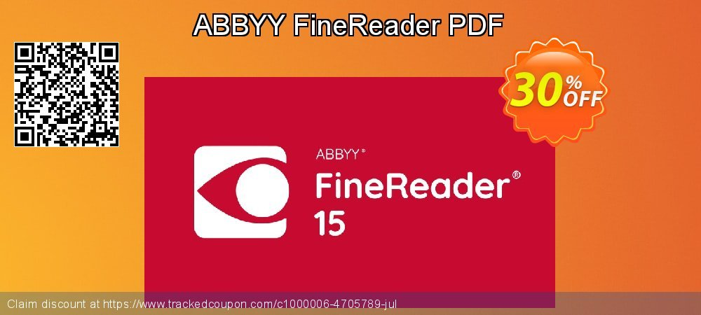 ABBYY FineReader PDF coupon on Back to School promo sales