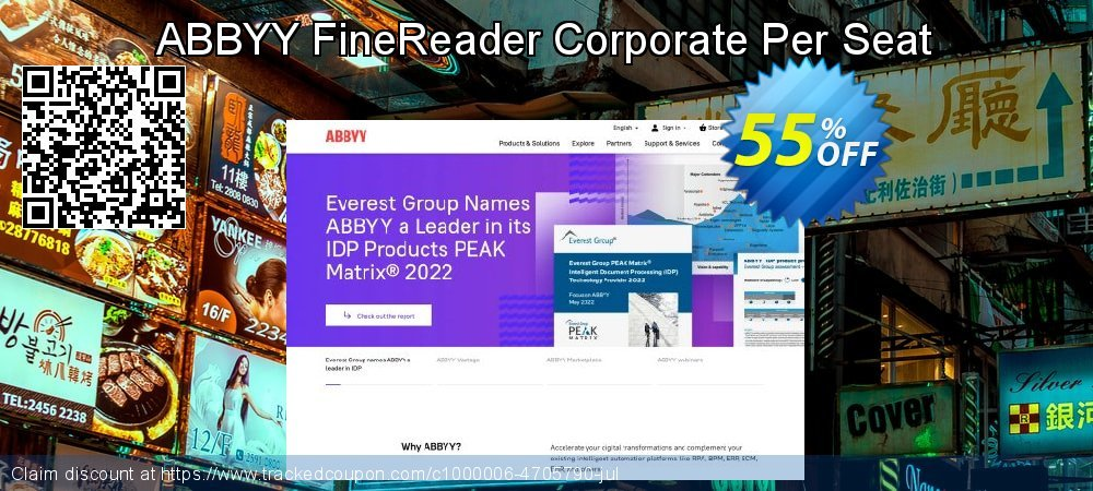 ABBYY FineReader Corporate Per Seat coupon on Back-to-School event deals