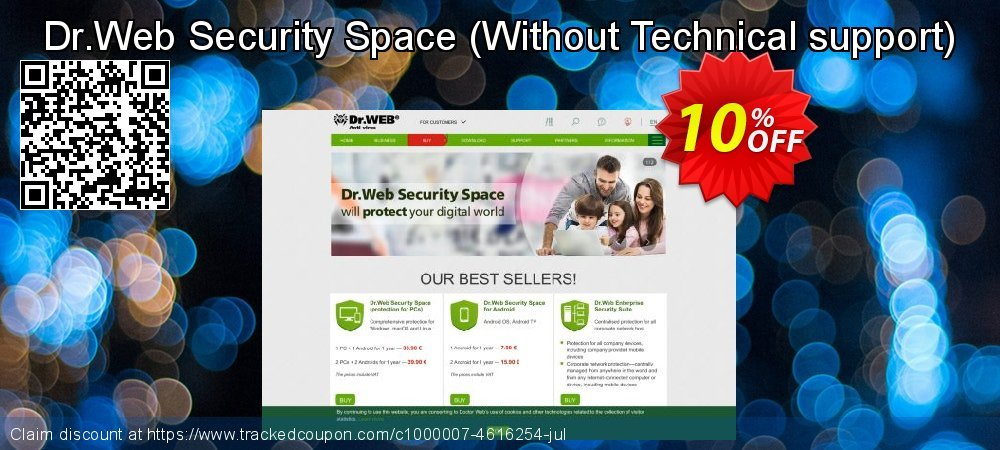Dr.Web Security Space - Without Technical support  coupon on Happy New Year promotions