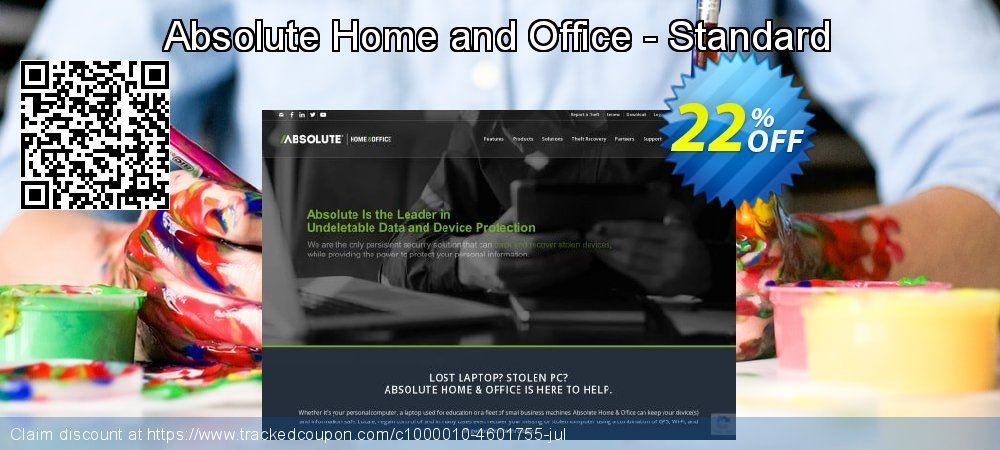 Absolute Home and Office - Standard coupon on Spring offering sales