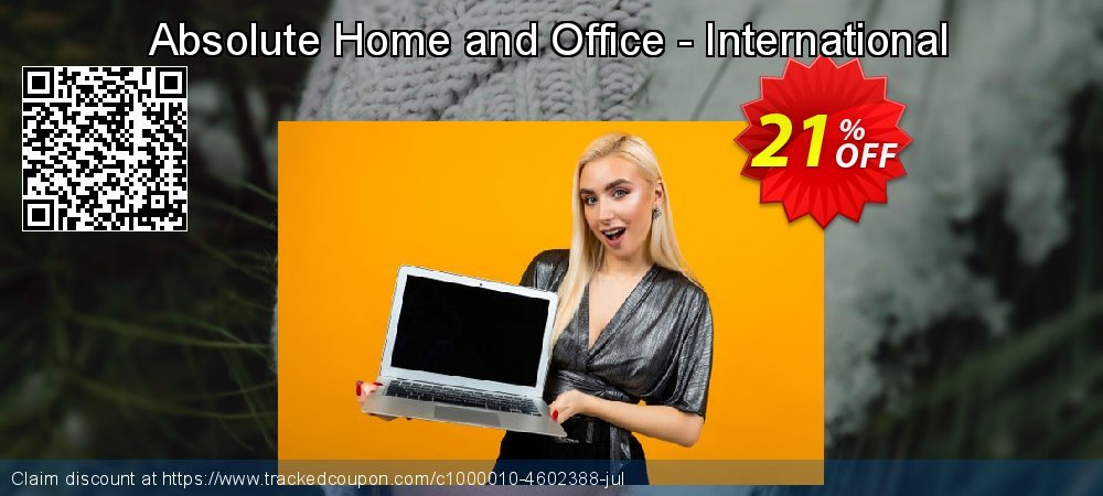 Get 10% OFF Absolute Home and Office - International sales