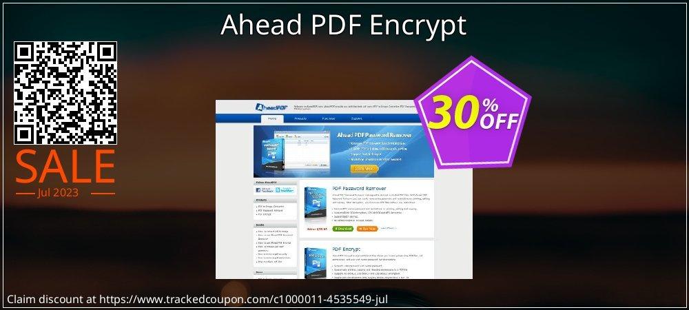 Get 30% OFF Ahead PDF Encrypt offering sales