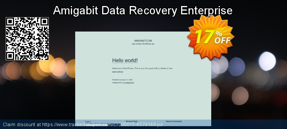 Claim 17% OFF Amigabit Data Recovery Enterprise Coupon discount April, 2019