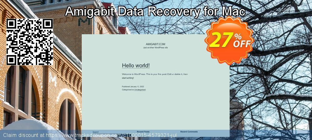 Claim 26% OFF Amigabit Data Recovery for Mac Coupon discount April, 2019