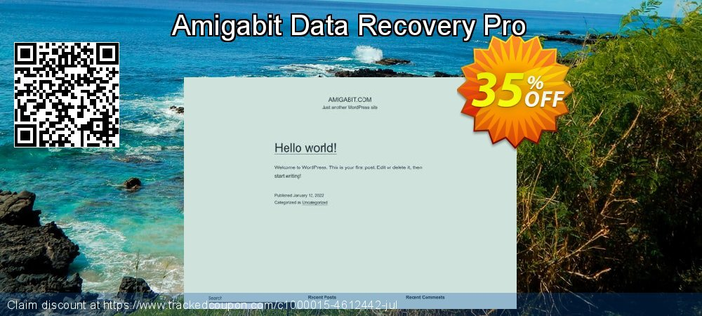 Claim 35% OFF Amigabit Data Recovery Pro Coupon discount April, 2019