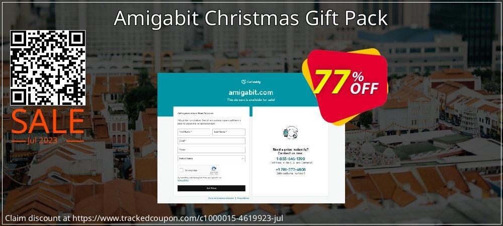Get 77% OFF Amigabit Christmas Gift Pack offering sales