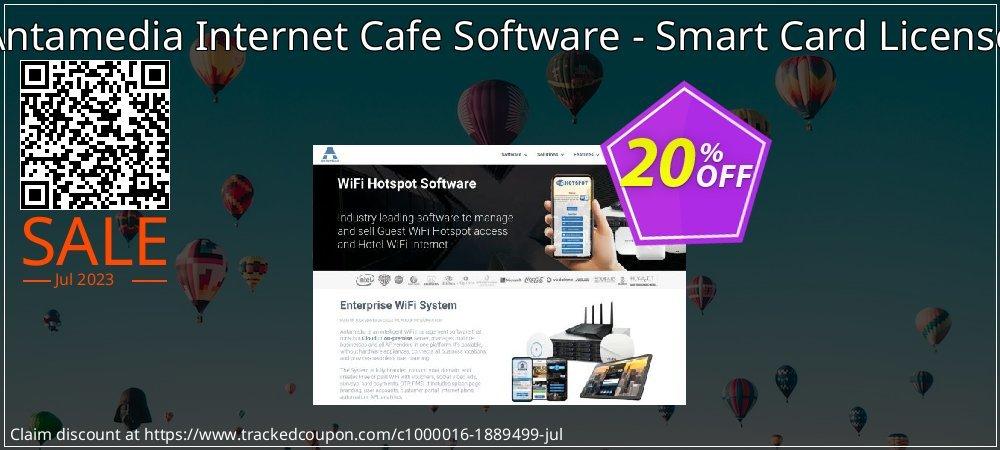 Antamedia Internet Cafe Software - Smart Card License coupon on Spring offering discount