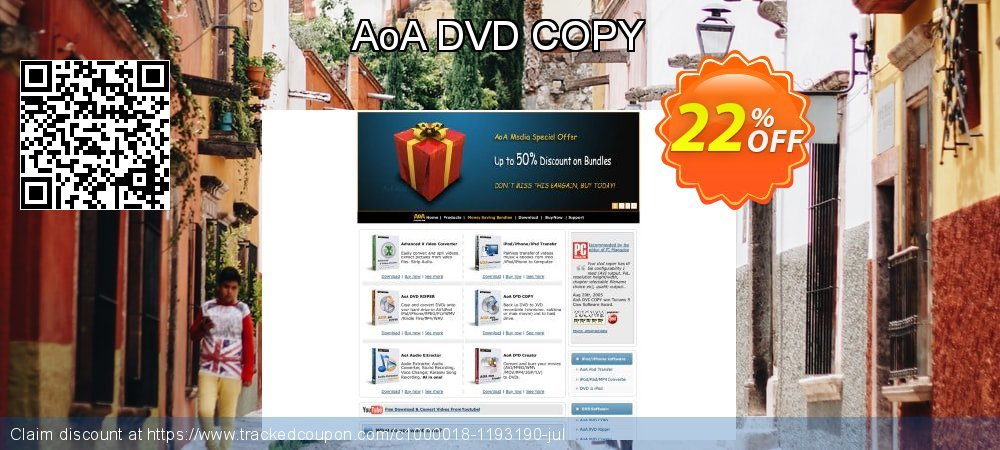 Get 20% OFF AoA DVD COPY offering sales
