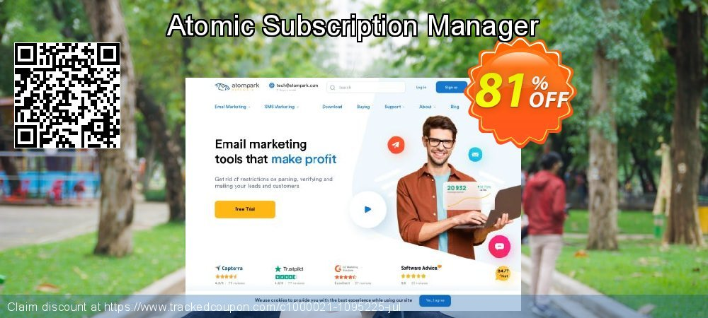 Atomic Subscription Manager coupon on Back to School offer promotions