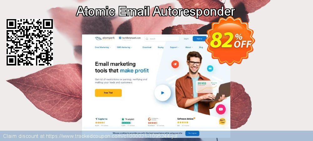 Atomic Email Autoresponder coupon on Halloween deals