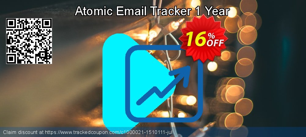 Atomic Email Tracker 1 Year coupon on Halloween offering discount