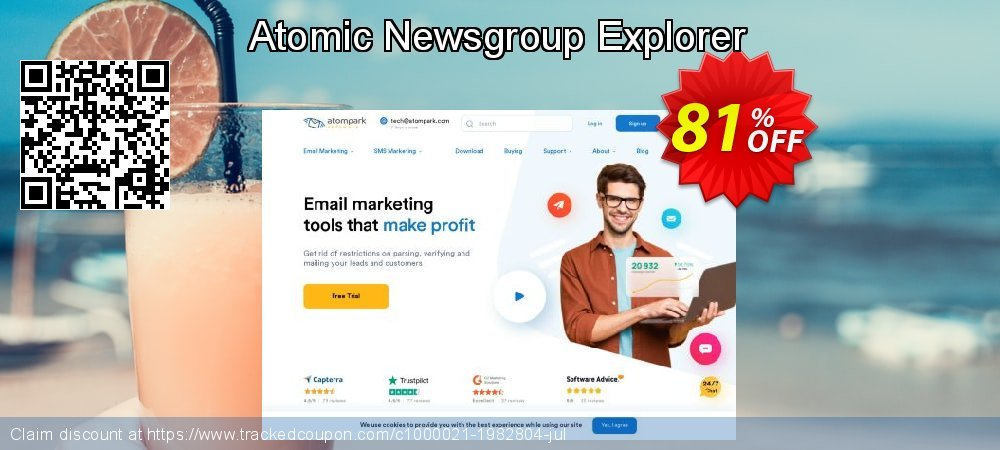 Get 80% OFF Atomic Newsgroup Explorer offering sales