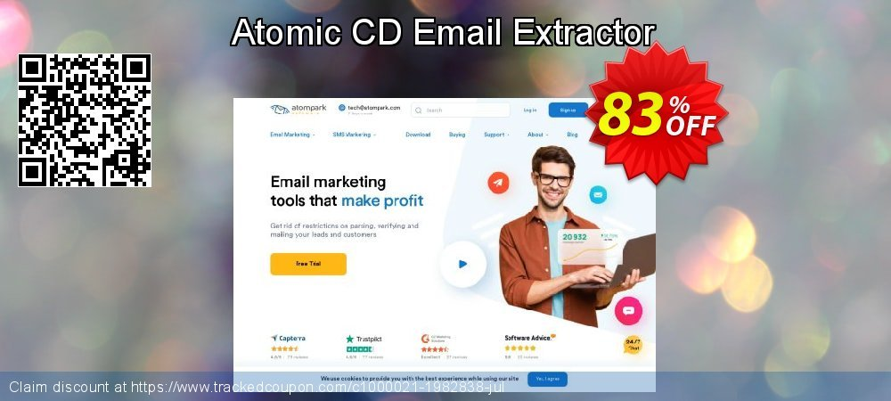 Atomic CD Email Extractor coupon on Teacher deals offering sales
