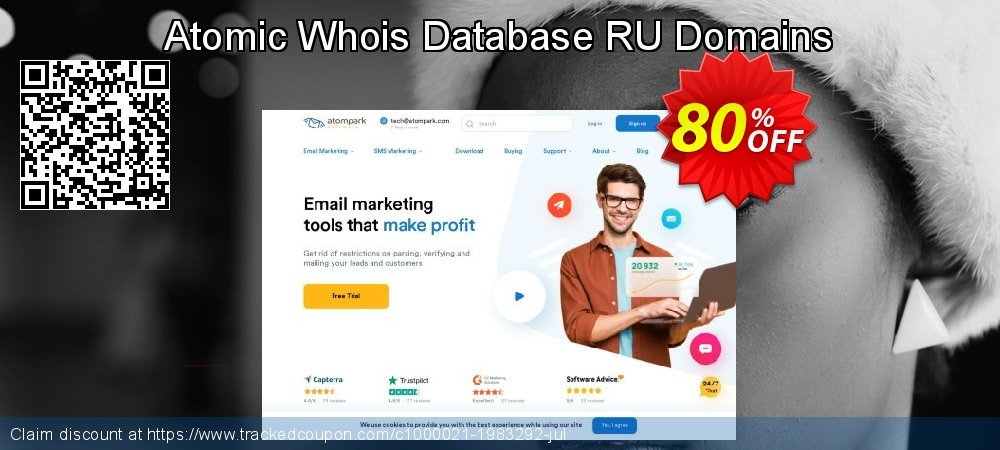 Atomic Whois Database RU Domains coupon on Student deals sales