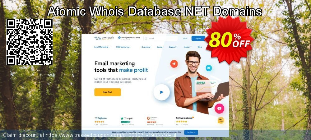 Atomic Whois Database NET Domains coupon on Back to School shopping deals