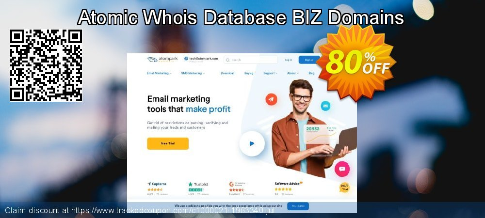 Atomic Whois Database BIZ Domains coupon on Back to School coupons discount