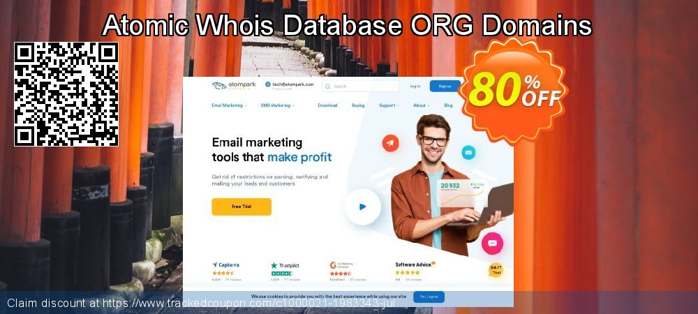 Atomic Whois Database ORG Domains coupon on Student deals super sale