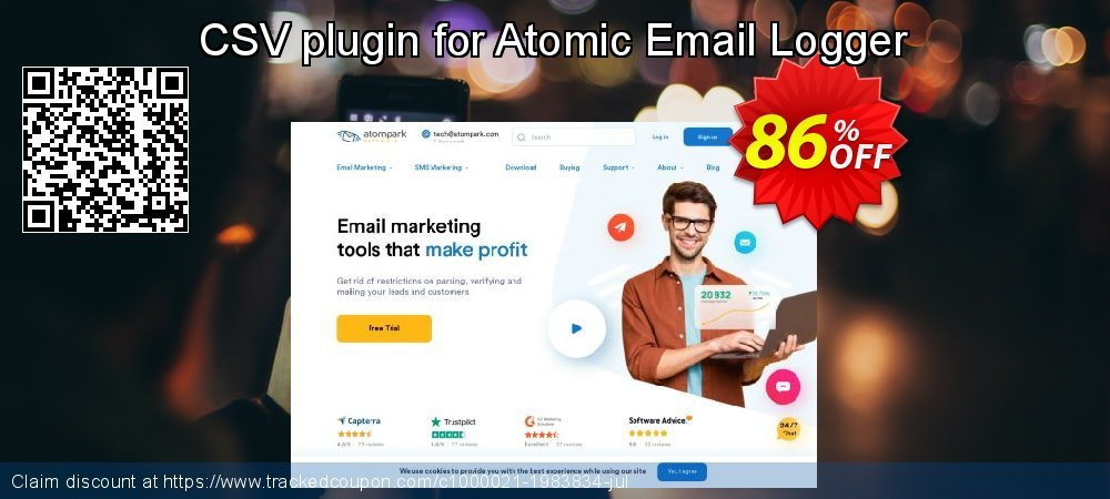 CSV plugin for Atomic Email Logger coupon on Halloween discount