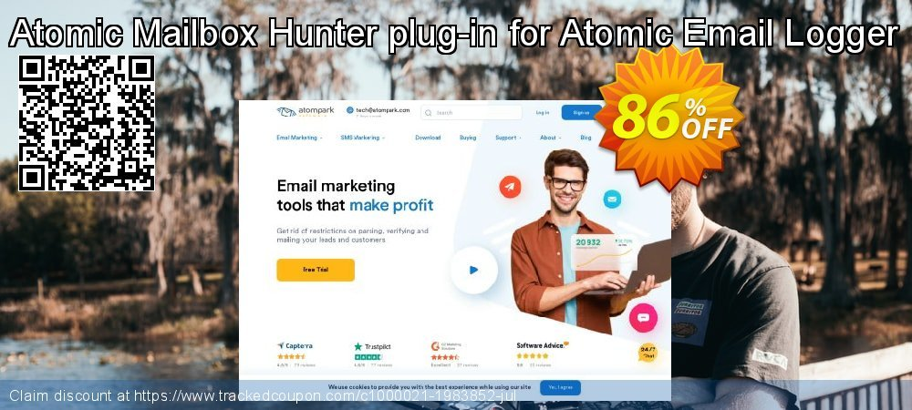 Atomic Mailbox Hunter plug-in for Atomic Email Logger coupon on Exclusive Student deals offer