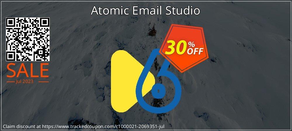Atomic Email Studio coupon on Teacher deals deals