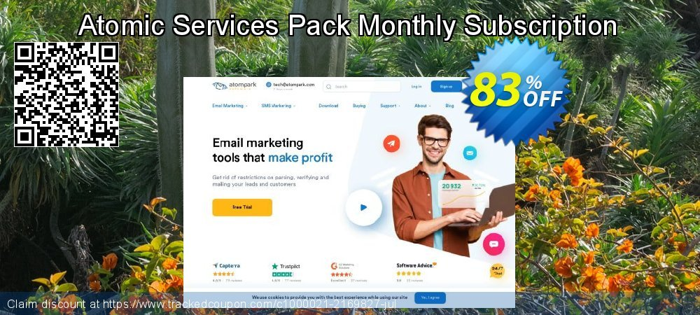 Atomic Services Pack Monthly Subscription coupon on Back to School deals deals