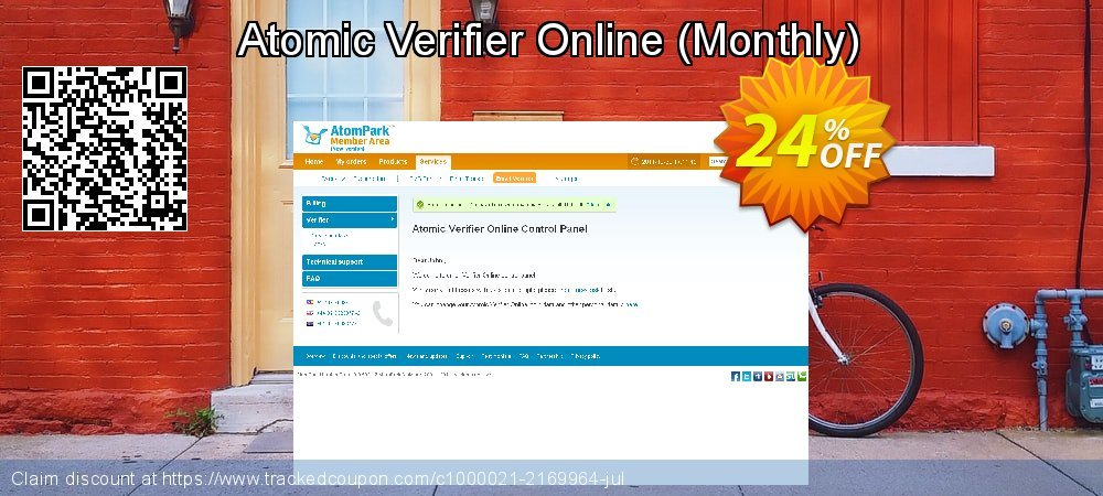 Atomic Verifier Online - Monthly  coupon on Back to School shopping discount