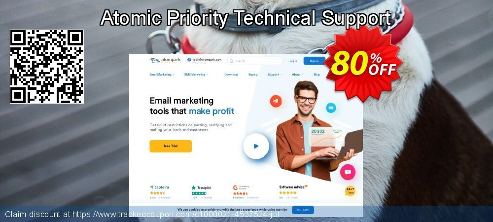 Atomic Priority Technical Support coupon on Exclusive Student deals offering sales