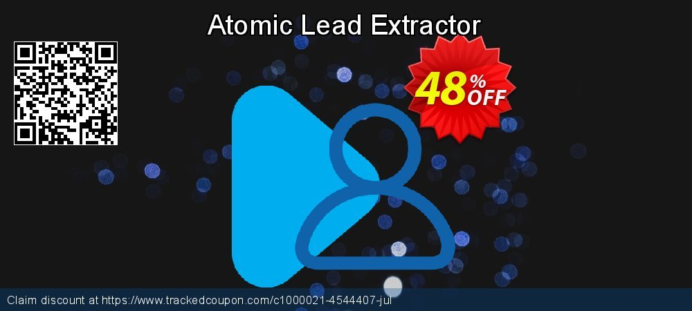 Atomic Lead Extractor coupon on Back to School coupons discount