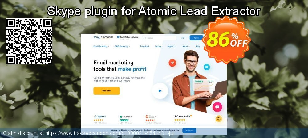 Skype plugin for Atomic Lead Extractor coupon on University Student deals sales