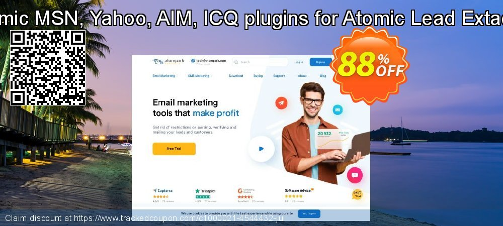 Atomic MSN, Yahoo, AIM, ICQ plugins for Atomic Lead Extactor coupon on New Year offer