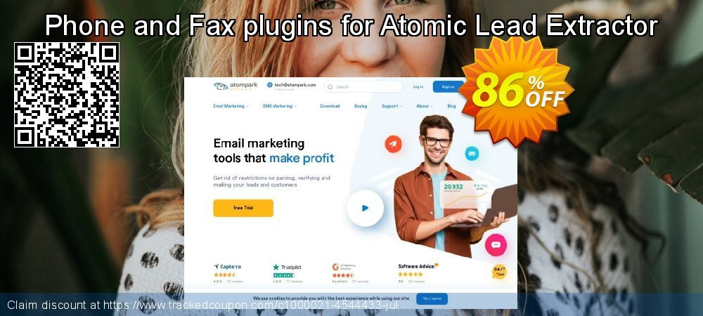 Phone and Fax plugins for Atomic Lead Extractor coupon on College Student deals offer