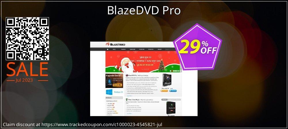 Get 29% OFF BlazeDVD Pro offering sales