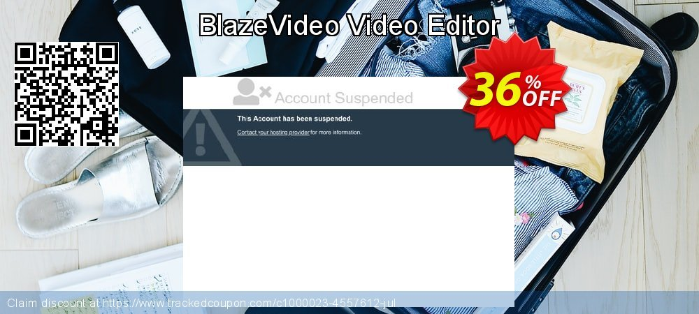 BlazeVideo Video Editor coupon on University Student offer discounts