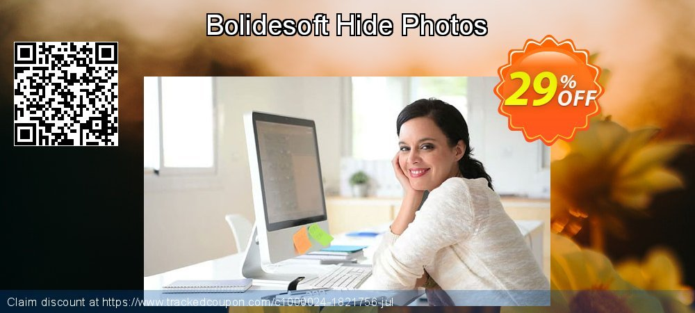 Hide Photos coupon on 4th of July super sale