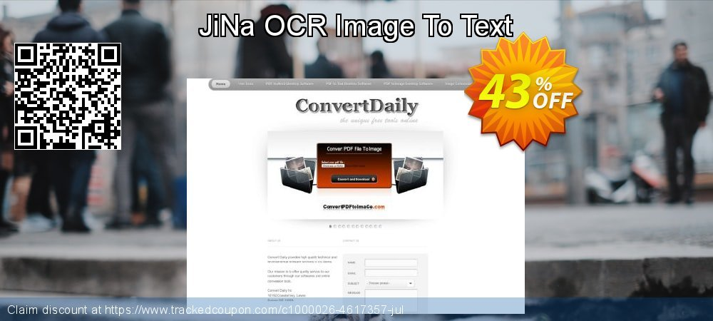 Get 40% OFF JiNa OCR Image To Text discount