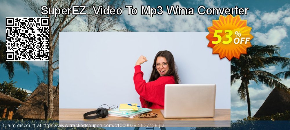 Get 40% OFF SuperEZ Video To Mp3 Wma Converter offering sales